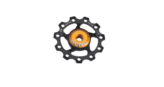 KCNC Jockey Wheel 12T SS Bearing zwart